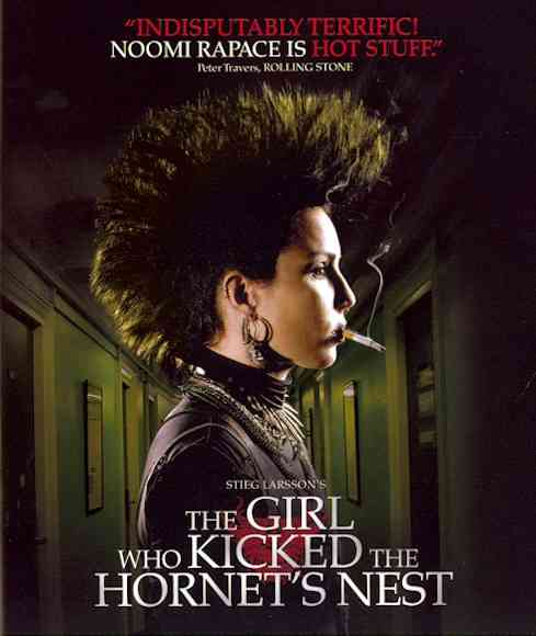 GIRL WHO KICKED THE HORNET'S NEST BY RAPACE,NOOMI (Blu-Ray)